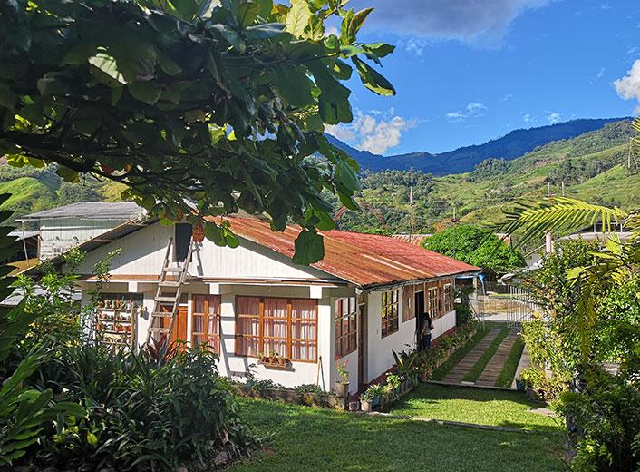 Empfehlung für Schulklassen. Hostal Tirol in Pozuzo